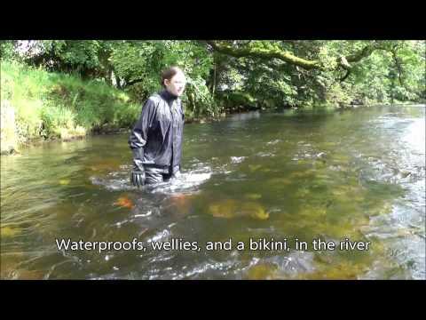 Rainwear in the river - British Summer Beachwear 2012 - The Trailer!