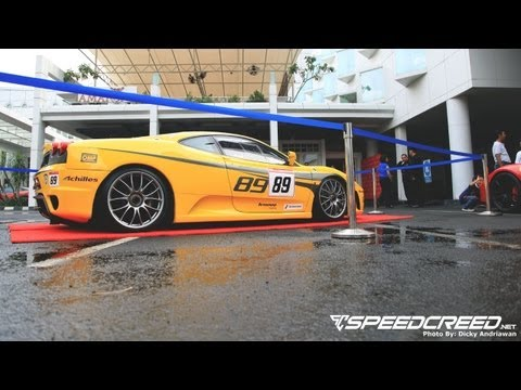 Speed Creed: F430 Competizione Launching Coverage (Jakarta, Indonesia)