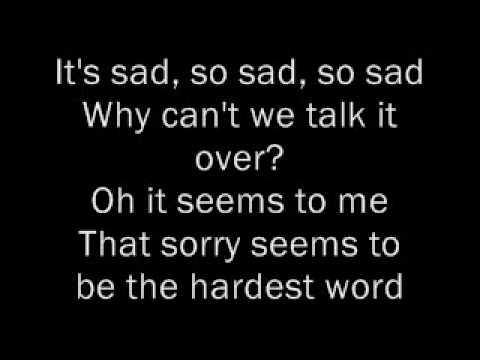 Pity sex lyrics