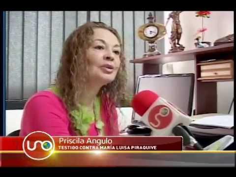 Investigador de CTI al servicio de María Luisa Piraquive