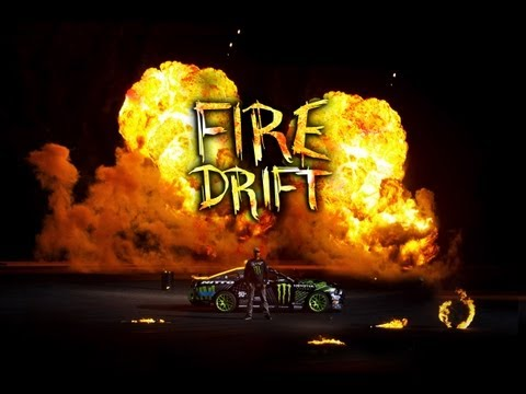 Monster Energy: Vaughn Gittin Jr.'s FIRE DRIFT