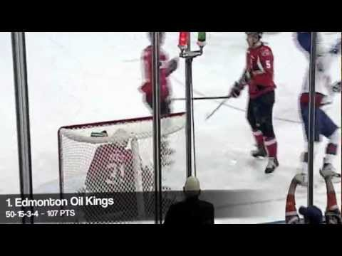WHL Playoff Preview - (1) Edmonton Oil Kings vs. (8) Kootenay Ice (March 22, 2012)
