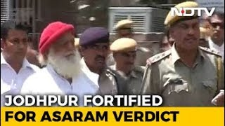 Jodhpur Turns Fortress Ahead Of Verdict In Asaram Rape Case - NDTV