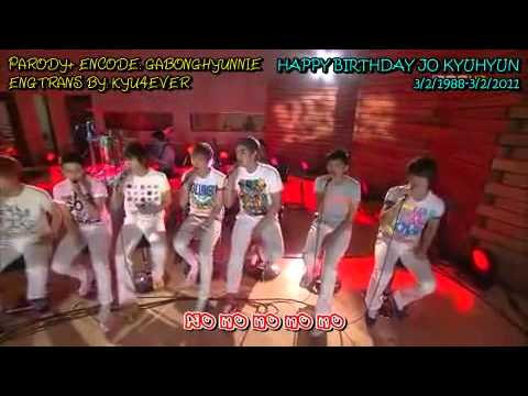 [ Engsub] Parody Happy Birthday Kyuhyun- &quot;GEE&quot; Super Junior