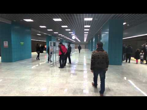 Marmaray - Istanbul - Undersea Rail Tunnel Project - Uskudar - Sirkeci -