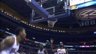 Derrick Rose Explodes For And 1 Layup