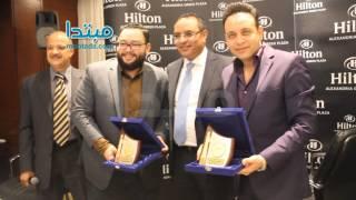 بالفيديو .. «نورت مصر» وتكريم خاص لمصطفى قمر ورزق