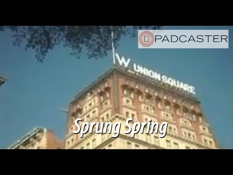 Sprung Spring : First iPad 3 video with 35mm lenses