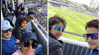 Mahesh Babu Family Enjoying IND vs AUS Match In London - RAJSHRITELUGU