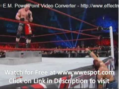 John Cena Vs Brock Lesnar - Extreme Rules 2012 Match - Part 1