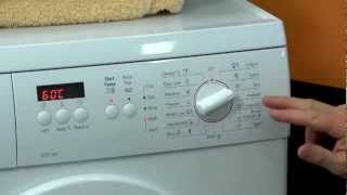bosch front load washing machine wae24272au review by e s trading rh youtube com bosch maxx 6 varioperfect user manual bosch maxx classic user instructions