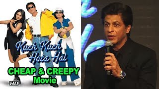 SRK finds some 'Kuch Kuch Hota Hai' acts very CHEAP & CREEPY - IANSLIVE