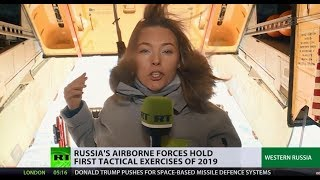 Sky's the limit? Russian Airborne Troops hold first tactical exercises of 2019 - RUSSIATODAY