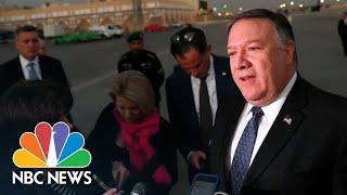 Pompeo: Saudis Promise 'Transparent Investigation' Into Jamal Khashoggi Disappearance | NBC News - NBCNEWS