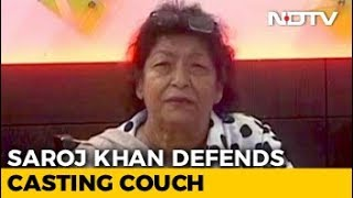 At Least Film Industry Gives Work: Saroj Khan's Shocker On Casting Couch - NDTV
