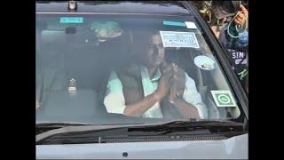 Pilot, Gehlot leave Rahul Gandhi's residence after meeting - ABPNEWSTV
