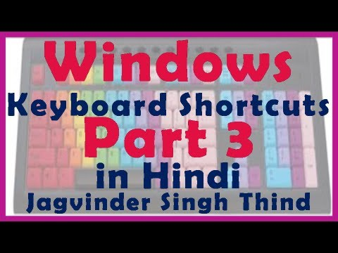 Windows Shortcuts Part 3