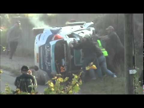 Rallye de France Alsace 2011 WRC - ES 2 Ungersberg - Sortie de route de Sousa Bernardo