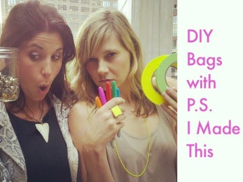 3 Ways to DIY a Bag with P.S. I Made This