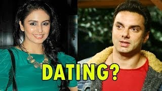 Huma Qureshi DATING Sohail Khan ? | Bollywood News