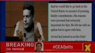 Arvind Subramanian quits as Chief economic advisor, will return to US - NEWSXLIVE