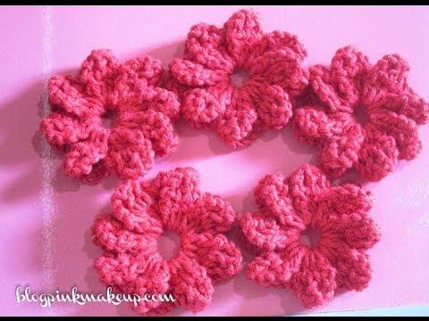 Flor de Croche Catavento