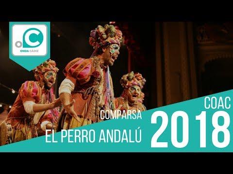 Sesión de Preliminares, la agrupación El perro andalú actúa hoy en la modalidad de Comparsas.