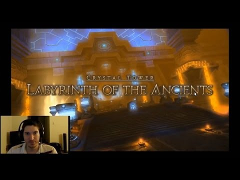 Final Fantasy XIV - Crystal Tower (Labyrinth of the Ancients) [HD]