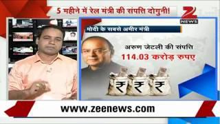 DV Sadananda Gowda's assets show greatest hike - ZEENEWS