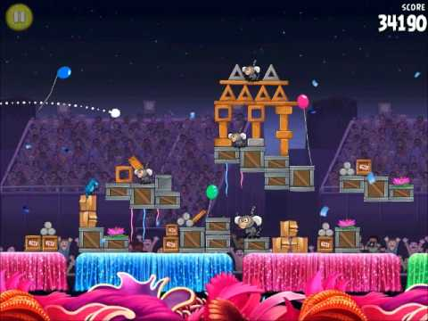 Official Angry Birds Rio Walkthrough Carnival Upheaval 8-13