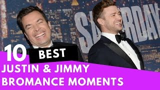 Top 10 Justin Timberlake & Jimmy Fallon Bromance Moments! - HOLLYWIRETV