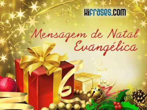 Mensagem de Natal Evangélica