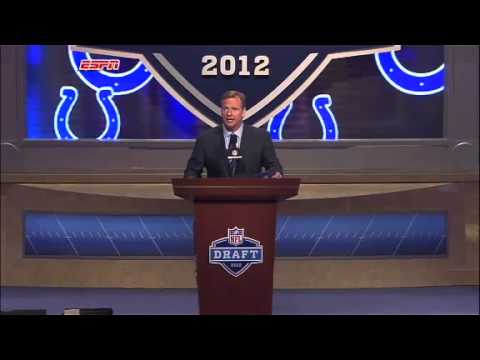 Andrew Luck Drafted Number 1 in 2012 NFL Draft!!!!!
