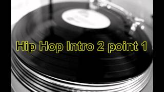 Royalty Free Urban Downtempo Intro End: Hip Hop Intro 2
