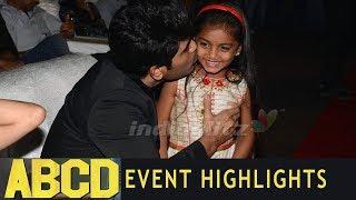 Highlights of ABCD Event | Allu Sirish | Rukshar Dhillon | Jabardasth Deevena | IndiaGlitz Telugu - IGTELUGU