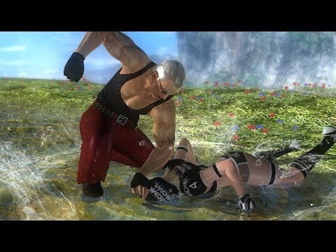 DOA5U Replay BLAZE170 (Leon) vs B00TY CRUST (Rachel)