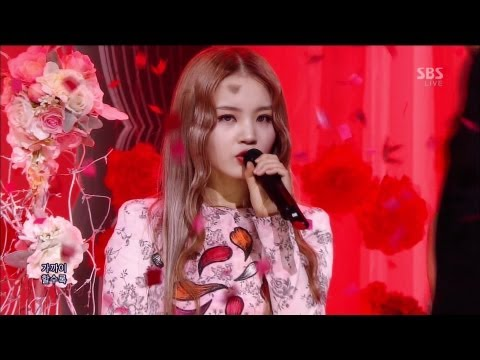 LEE HI (이하이) - ROSE @SBS Inkigayo 인기가요 2013.04.07