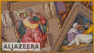 🇲🇽 Mexico City to open replica of Michelangelo's Sistine Chapel l Al Jazeera English - ALJAZEERAENGLISH