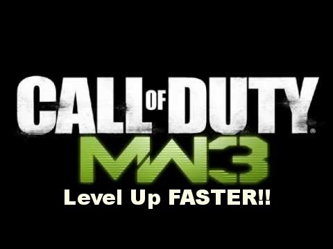 MW3 Gameplay - How to level up fast in Modern Warfare 3 Multiplayer (MW3 Level up/Rank up Tutorial)