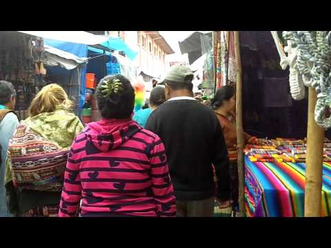 Sunday Market in Chichicastenango, Guatemala