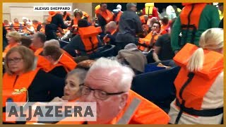🇳🇴 Norway: Passengers airlifted from stranded cruise ship | Al Jazeera English - ALJAZEERAENGLISH