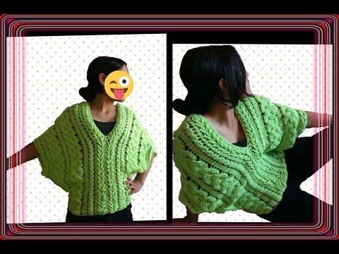 Blusa de trenzas primaverales en crochet parte 4 / linda blusa /crochet viral / punto fantasía