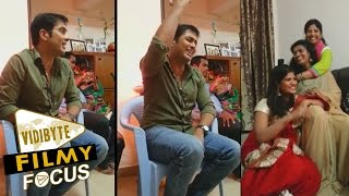 Actor UdayKiran And His Wife Vishita Singing A Song In His Home…!!!