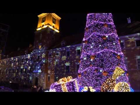 Tak wyglądało odpalenie świątecznej iluminacji w Warszawie 2 lata temu.