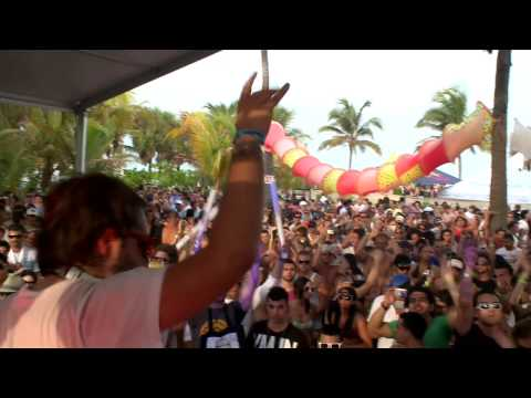 Sebastian Ingrosso in Miami at Winter Music Conference 2009