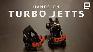 Razor Turbo Jetts hands-on - ENGADGET