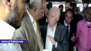 بالفيديو والصور.. محافظ كفرالشيخ يتفقد مصانع بنجر السكر بـ'الحامول'