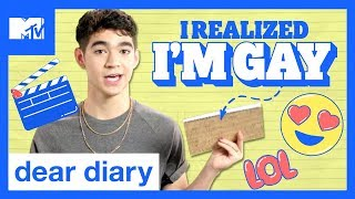 Ben J. Pierce Relives the Cringeworthy Start Of His Career | Dear Diary - MTV