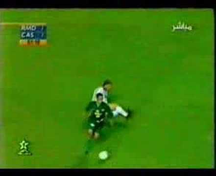 Raja Casablanca - Real madrid   Championnat du monde des clubs 2000