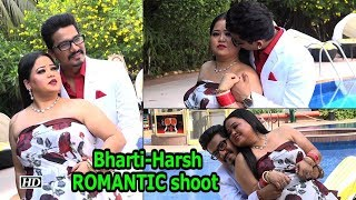 Bharti Singh's ROMANTIC shoot with husband Harsh - IANSLIVE